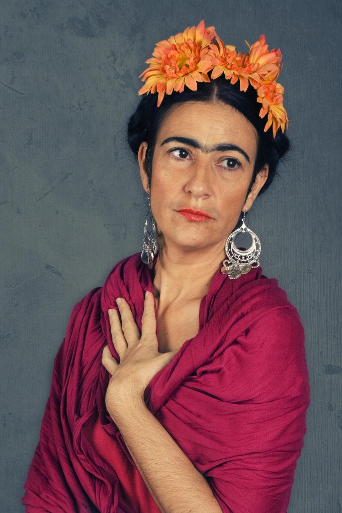 Sesión de fotos Frida kahlo (2014)